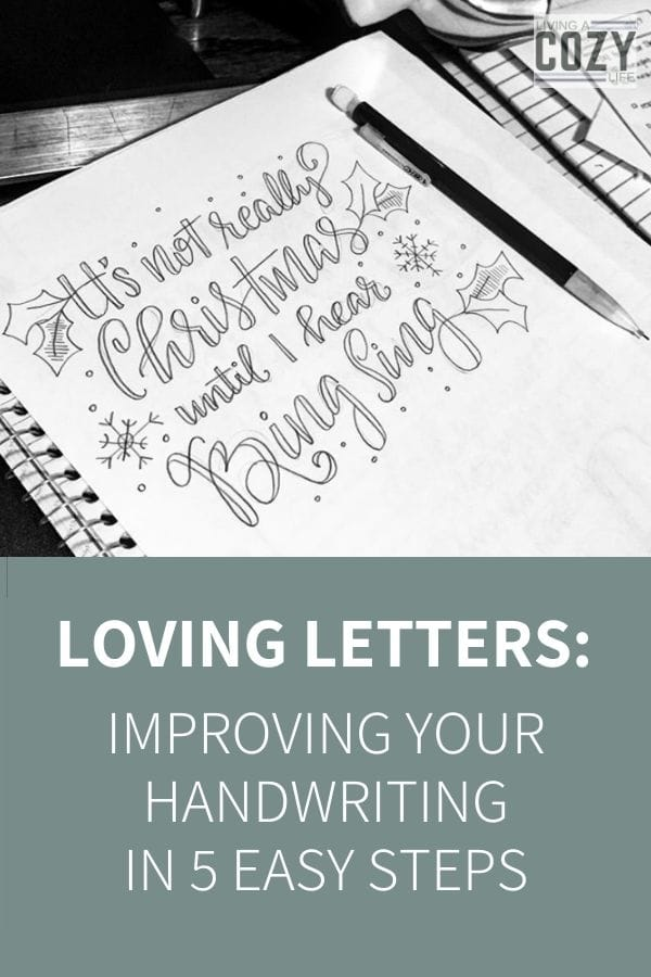 improving your handwriting in 5 easy steps