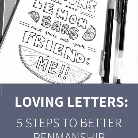 5 steps to better penmanship as an adult