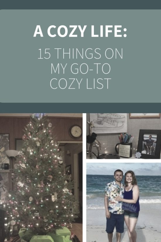 15 Things on my Go-To Cozy List