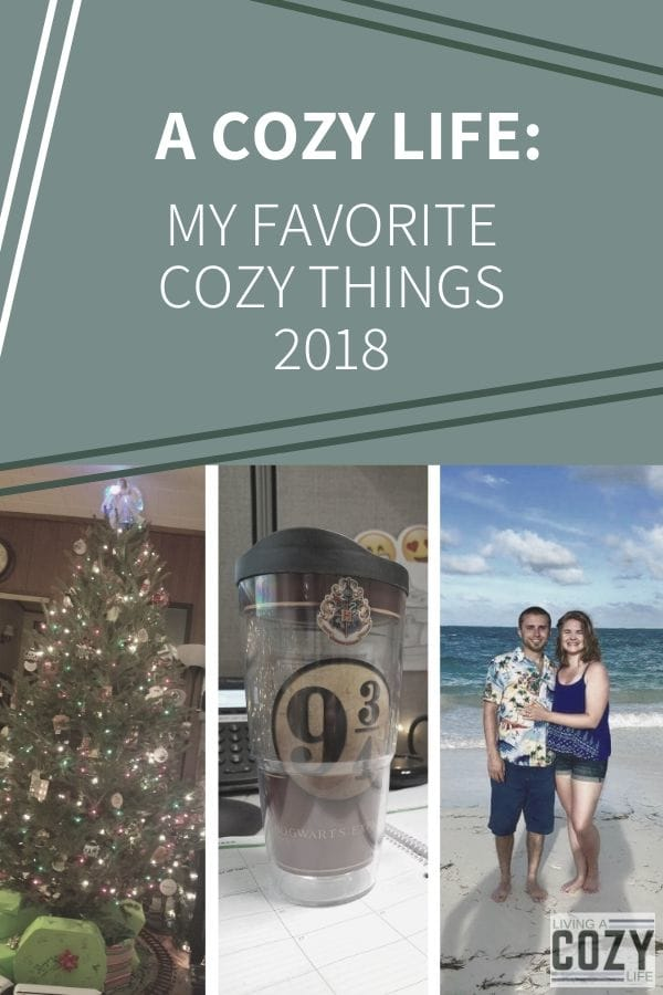 My Favorite Cozy Things 2018