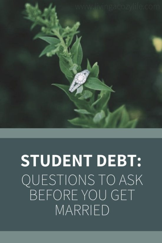 Discussing Debt and Student Loans Before Getting Married