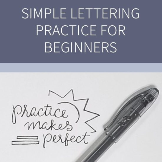 Learn Hand Lettering in Less than a Week