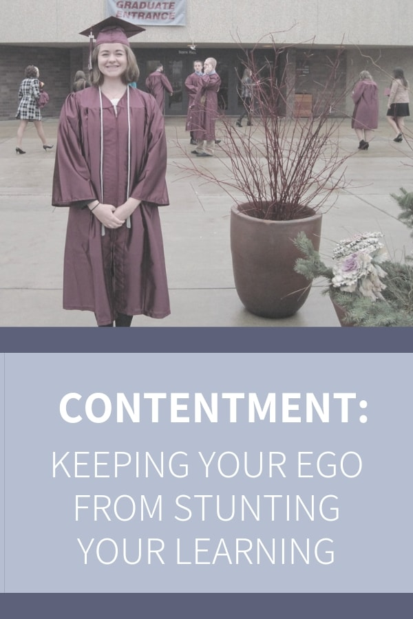 Learning from others requires us to set aside our ego