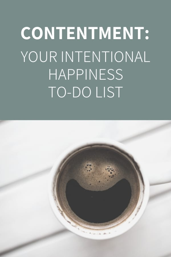 Being Intentional and Finding Happiness 2019