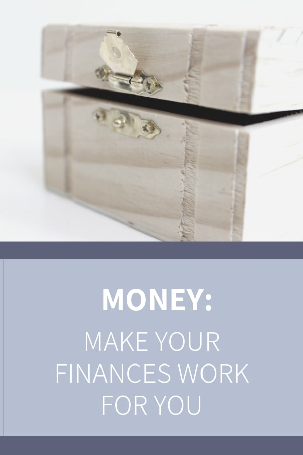 Become friends with your income and budget