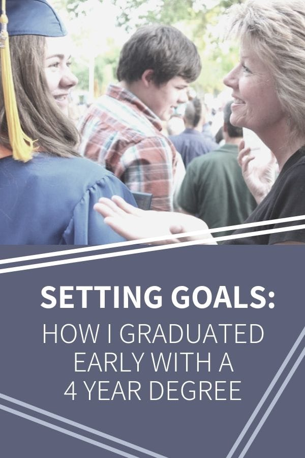 How I graduated early with a four year degree