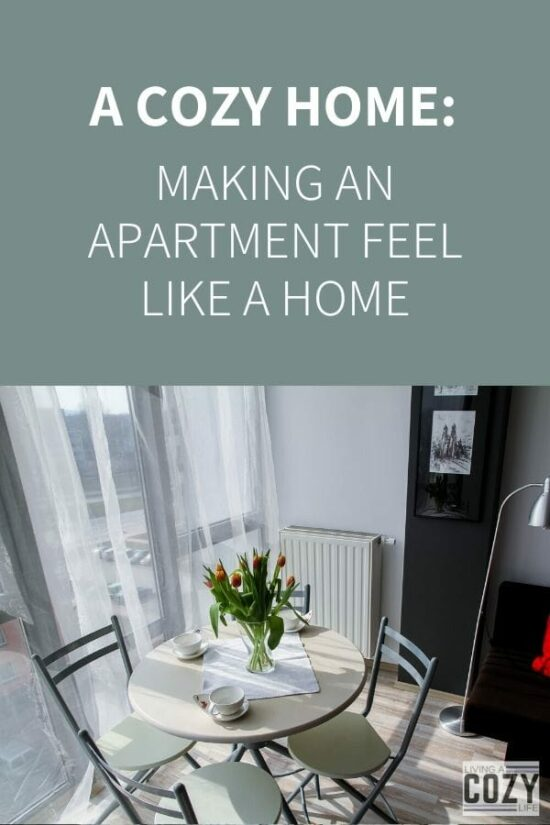 Making an apartment feel like a home